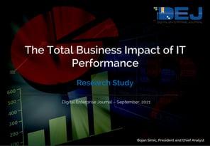 DEJ Business Impact of IT performance