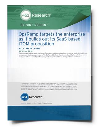 New 451 Research Report On Hybrid IT Operations